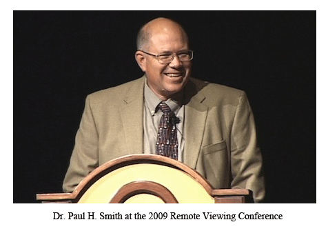 Dr. Paul H. Smith, chief remote viewing instructor
